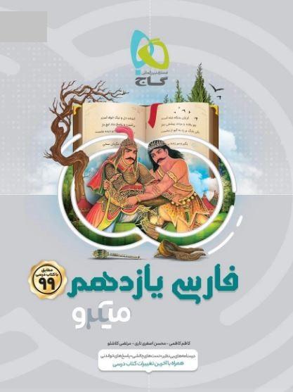 میکرو ادبیات فارسی یازدهم گاج