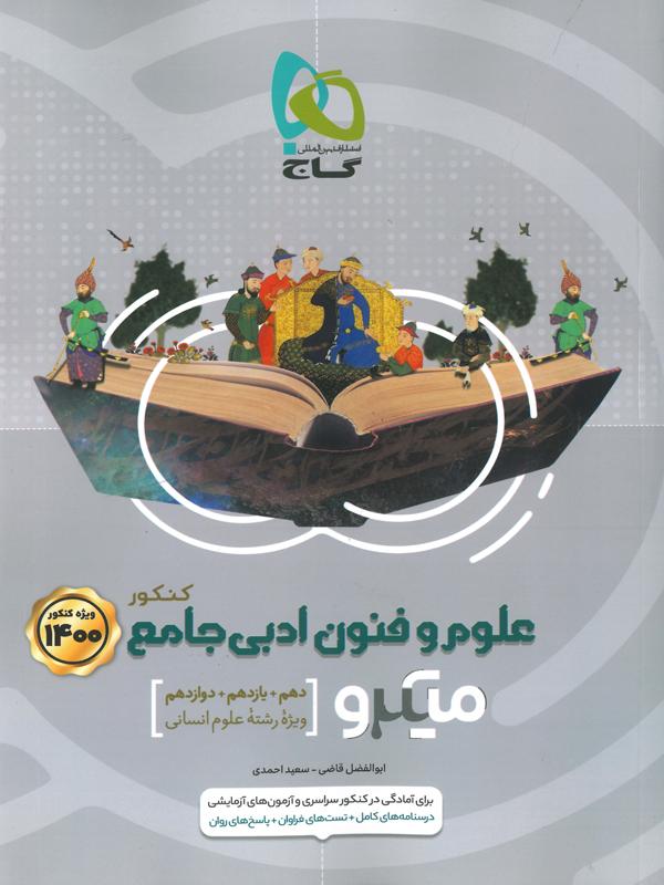میکرو علوم و فنون ادبی جامع کنکور گاج